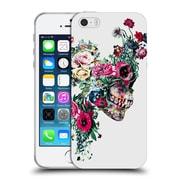 Official Riza Peker Skulls 2 Vii Soft Gel Case For Apple Iphone 5 / 5S / Se