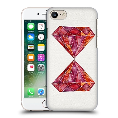 Official Cat Coquillette Watercoloured Gems Ruby Hard Back Case For Apple Iphone 7