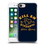 Official Selena Gomez Revival Art Kill Em With Kindness Hard Back Case For Apple Iphone 7
