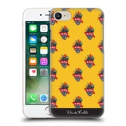 Official Frida Kahlo Typography Heart Pattern Hard Back Case For Apple Iphone 7