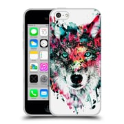Official Riza Peker Animals Wolf Soft Gel Case For Apple Iphone 5C