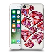 Official Cat Coquillette Watercoloured Gems Rubies Tattoos Hard Back Case For Apple Iphone 7