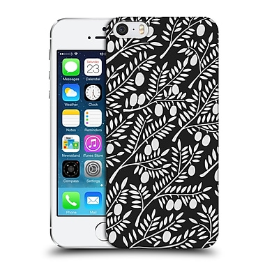 Official Cat Coquillette Patterns White Olive Branches Hard Back Case For Apple Iphone 5 / 5S / Se