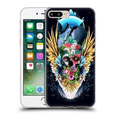 Official Riza Peker Skulls 4 Vivid Ii Soft Gel Case For Apple Iphone 7 Plus