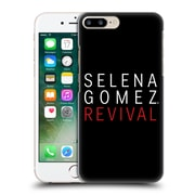 Official Selena Gomez Revival Art Tour Logo Hard Back Case For Apple Iphone 7 Plus