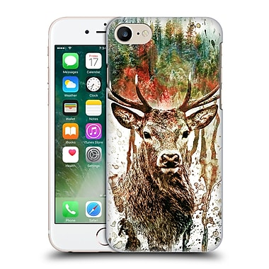 Official Riza Peker Animals Deer Hard Back Case For Apple Iphone 7