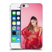Official Ariana Grande Dangerous Woman Red Leather Hard Back Case For Apple Iphone 5 / 5S / Se
