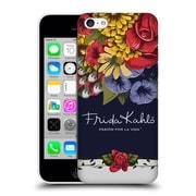 Official Frida Kahlo Red Florals Blooms Hard Back Case For Apple Iphone 5C