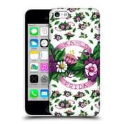 Official Frida Kahlo Purple Florals Ribbon Hard Back Case For Apple Iphone 5C