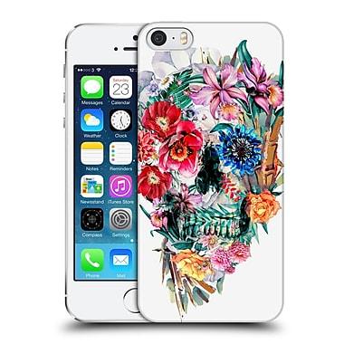 Official Riza Peker Skulls Momento Mori Vi Hard Back Case For Apple Iphone 5 / 5S / Se