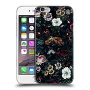 Official Riza Peker Flowers 3 Botanical Garden V Soft Gel Case For Apple Iphone 6 / 6S