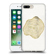Official Cat Coquillette Nature Gold Peach Leaf Soft Gel Case For Apple Iphone 7 Plus
