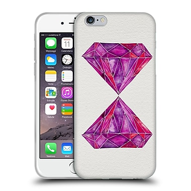 Official Cat Coquillette Watercoloured Gems Rhodolite Soft Gel Case For Apple Iphone 6 / 6S