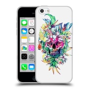 Official Riza Peker Skulls 2 Island Soft Gel Case For Apple Iphone 5C
