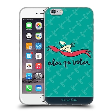 Official Frida Kahlo Doodle Wings To Fly Soft Gel Case For Apple Iphone 6 Plus / 6S Plus