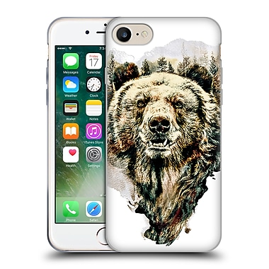 Official Riza Peker Animals Bear Soft Gel Case For Apple Iphone 7