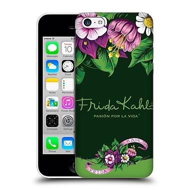 Official Frida Kahlo Purple Florals Blooms Hard Back Case For Apple Iphone 5C