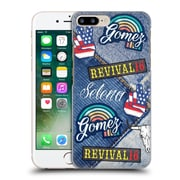 Official Selena Gomez Revival Art Patches Hard Back Case For Apple Iphone 7 Plus