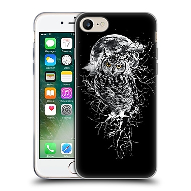 Official Riza Peker Animals 2 Owl Soft Gel Case For Apple Iphone 7