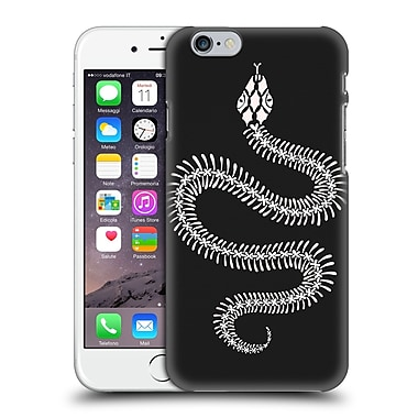 Official Cat Coquillette Animals White Ombre Snake Skeleton Hard Back Case For Apple Iphone 6 / 6S