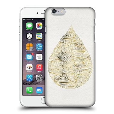 Official Cat Coquillette Watercolour Illustrations 2 Gold Water Drop Hard Back Case For Apple Iphone 6 Plus / 6S Plus