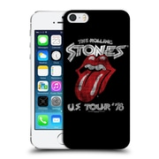 Official The Rolling Stones Key Art Us Tour 78 Hard Back Case For Apple Iphone 5 / 5S / Se