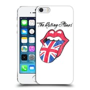 Official The Rolling Stones Key Art Uk Tongue Hard Back Case For Apple Iphone 5 / 5S / Se