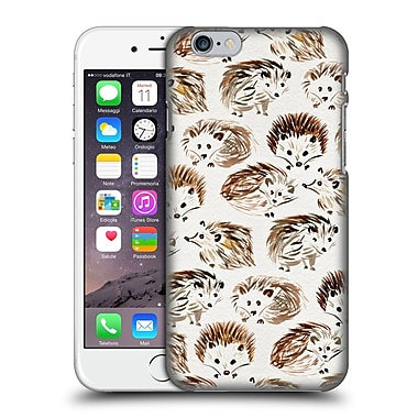Official Cat Coquillette Animals Hedgehogs Hard Back Case For Apple Iphone 6 / 6S