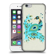 Official Cat Coquillette Birds Peacock Gold Hard Back Case For Apple Iphone 6 / 6S