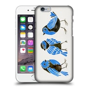 Official Cat Coquillette Birds Finches Blue Hard Back Case For Apple Iphone 6 / 6S