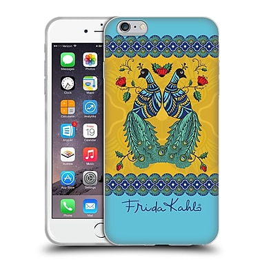 Official Frida Kahlo Peacock Pair Soft Gel Case For Apple Iphone 6 Plus / 6S Plus