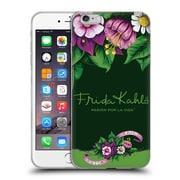 Official Frida Kahlo Purple Florals Blooms Soft Gel Case For Apple Iphone 6 Plus / 6S Plus