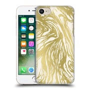 Official Caitlin Workman Patterns Marble Gold Hard Back Case For Apple Iphone 7
