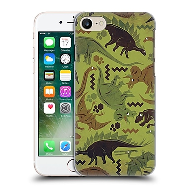 Official Chobopop Dinosaurs Camouflage Hard Back Case For Apple Iphone 7