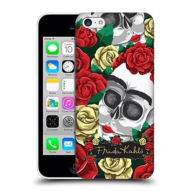 Official Frida Kahlo Roses Pair Skull Hard Back Case For Apple Iphone 5C
