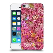 Official Celandine Tropical Pattern Stand Out Calmer Red Hard Back Case For Apple Iphone 5 / 5S / Se