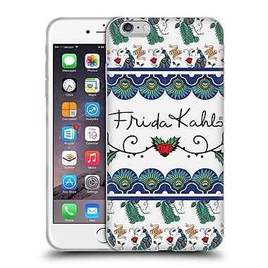 Official Frida Kahlo Peacock Ribbon Soft Gel Case For Apple Iphone 6 Plus / 6S Plus