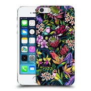 Official Celandine Tropical Pattern Stand Out Dark Hard Back Case For Apple Iphone 5 / 5S / Se