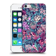 Official Celandine Tropical Pattern Stand Out Electric Blue Hard Back Case For Apple Iphone 5 / 5S / Se