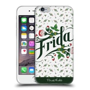 Official Frida Kahlo Typography Floral Soft Gel Case For Apple Iphone 6 / 6S