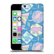 Official Chobopop Dinosaurs 90'S Pastel Hard Back Case For Apple Iphone 5C