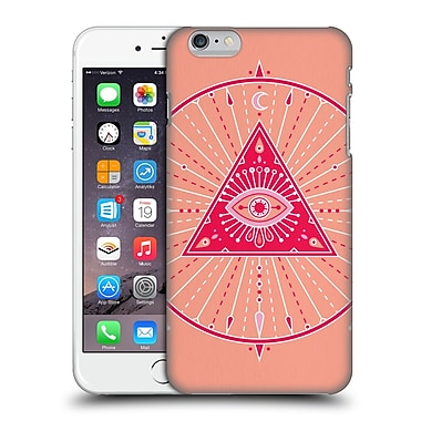 Official Cat Coquillette Mandala Evil Eye Pink Hard Back Case For Apple Iphone 6 Plus / 6S Plus