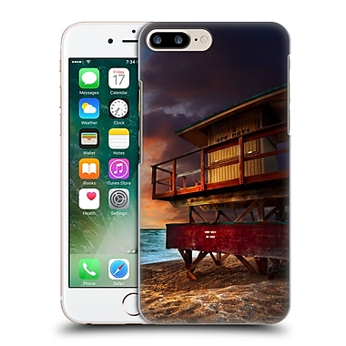 Official Celebrate Life Gallery Beaches 2 Lifeguard Stand At Sunrise Hard Back Case For Apple Iphone 7 Plus