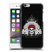 Official Chobopop Illustrations Indian Skull Hard Back Case For Apple Iphone 6 / 6S