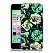Official Chobopop Dinosaurs Neon Skeletons Hard Back Case For Apple Iphone 5C