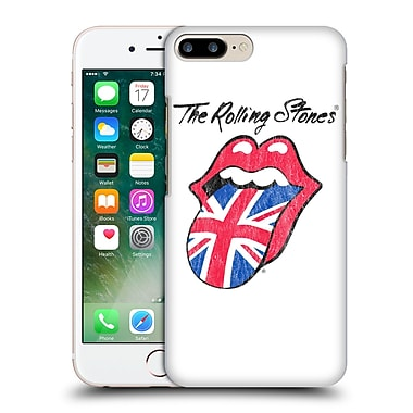 Official The Rolling Stones Key Art Uk Tongue Hard Back Case For Apple Iphone 7 Plus