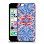 Official Chobopop Dinosaurs T-Rex Pattern Serenity Rose Quartz Hard Back Case For Apple Iphone 5C