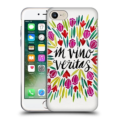 Official Cat Coquillette Quotes Typography 1 In Wine There Is Truth Original Soft Gel Case For Apple Iphone 7