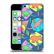 Official Chobopop Dinosaurs 90'S Pattern Hard Back Case For Apple Iphone 5C