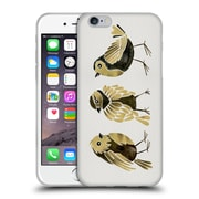 Official Cat Coquillette Birds Finches Gold Soft Gel Case For Apple Iphone 6 / 6S